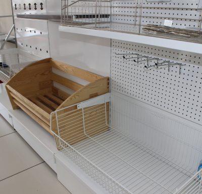 Стеллажи и торговое оборудование купить недорого в Екатеринбурге