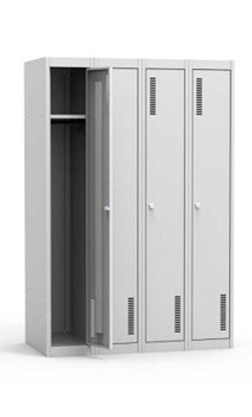 Металлический шкаф ШРС 41-300 (модульный четырехсекционный шкаф) купить недорого
